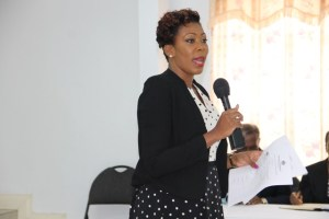 Camara Lee, Training Officer in the Human Resources Department