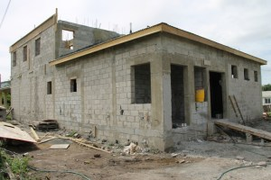 Another view of the expansion of the government-owned Veterinary Clinic at Prospect