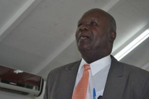 President of the Nevis Island Assembly Hon. Farrel Smithen