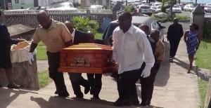 Dr. Dias' coffin