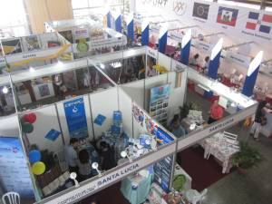 The OECS Pavilion at FIHAV 2016