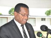 Minister of Health, Honourable Eugene Hamilton