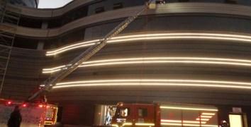 Nevşehir'de AVM'de yangın