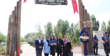 Şehit polis memuru Demet Sezen'in ismi Avanos'da bir parkta yaşayacak