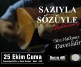 Usta Aşıklar, 25 Ekim'de Nevşehir'de buluşuyor