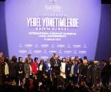 Cumhurbaşkanı Erdoğan, Nevşehir standının da  bulunduğu  Kadın Şurası'na katıldı