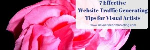 7 Effective Website Traffic Generating Tips for Visual Artists