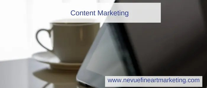 Content Writing - Online Marketing for Artists