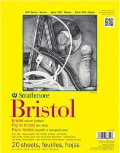 Stathmore Bristol Vellum Surface