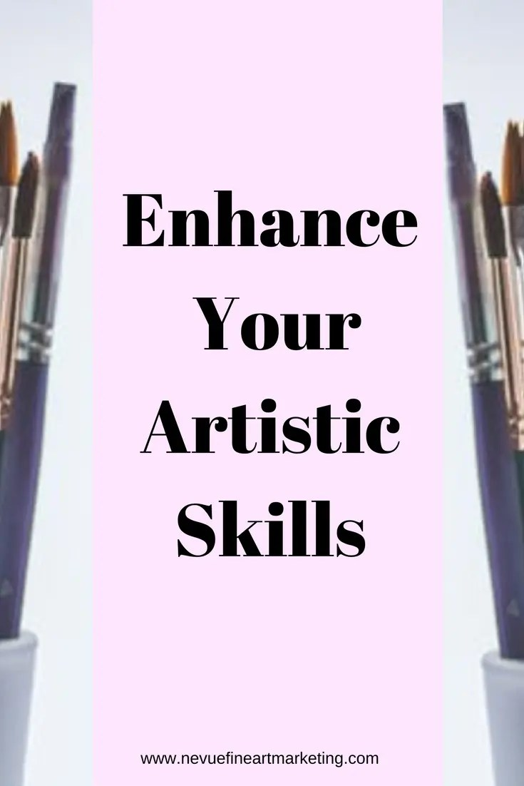 Are you interested in building up your business so you can charge more for your artwork? If you do you must enhance your artistic skills