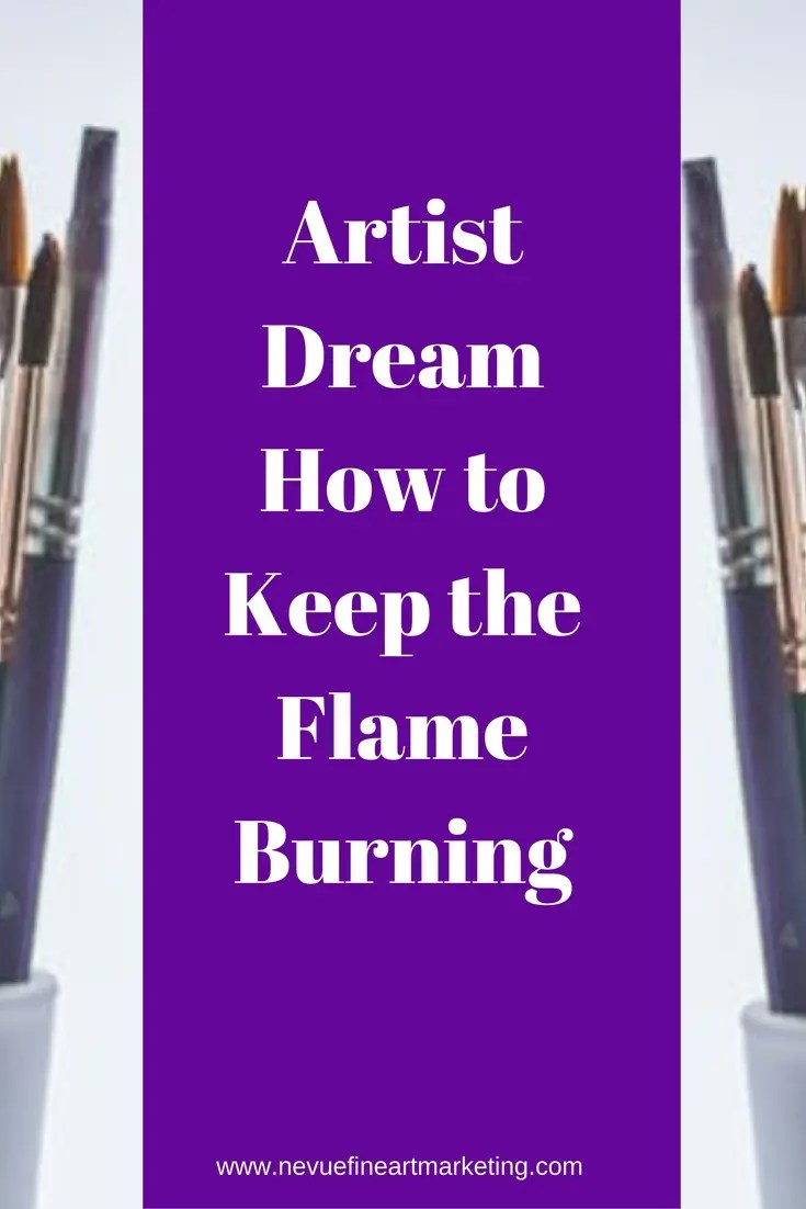 Do you find it difficult to keep working towards your artist dream? Do you want to make money selling art but you feel like you will never get to that point?