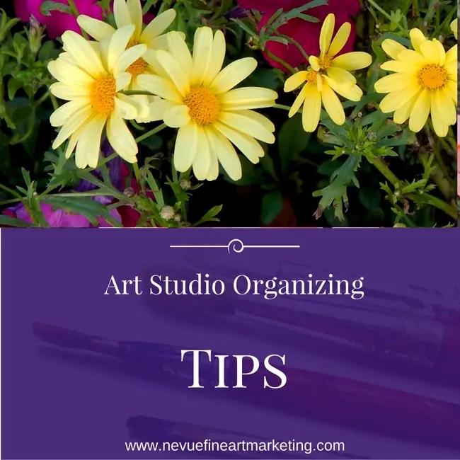 Art Studio Organizing Tips That Save Money