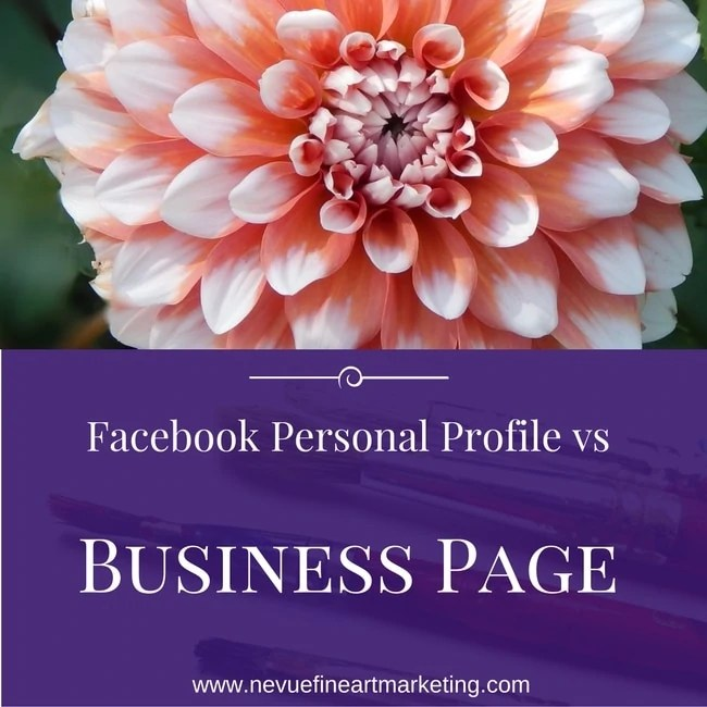 Facebook Personal Profile vs Facebook Page For Artists