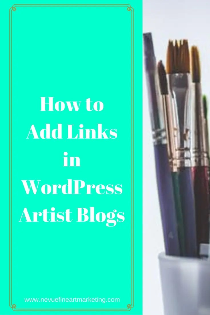 Would you like to add hyperlinks in your artist blog's posts and pages? Would you like to add links to previous posts that you have already created? In thispost, I will share with you how to add links in WordPress step-by-step.
