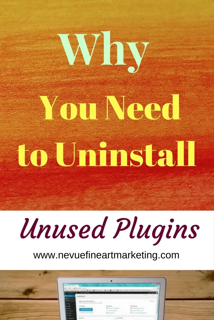 Are you concerned with the speed of your WordPress artist blog? One reason your site might be a little slower than you would like is that of the plugins you have installed.In this article discover why you should uninstall unused plugins and how to do it step by step.