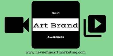 Build art brand awareness
