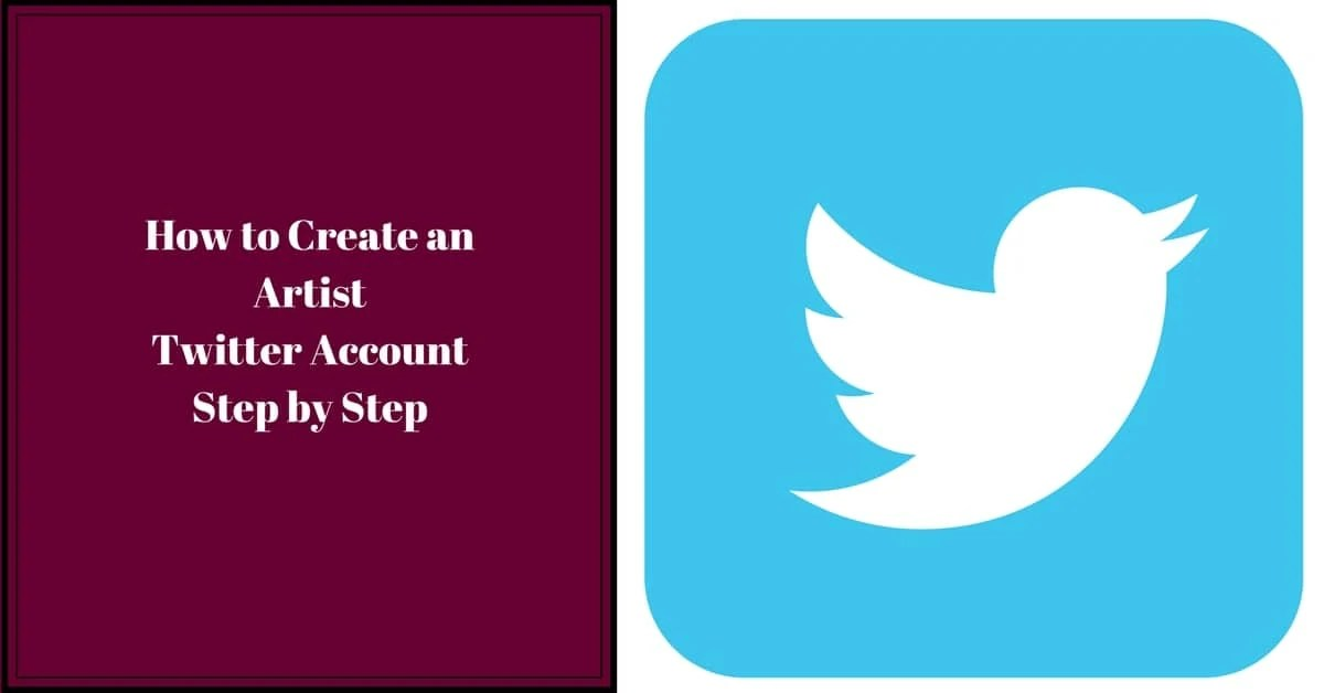 How to Create an Artist Twitter Account Step by Step - Nevue