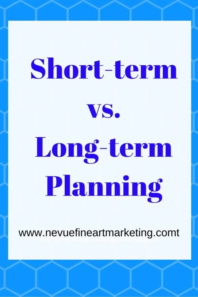 Short-term vs. Long-term Planning - Do you have short-term and long-term plans? In this article, discover the difference between short-term vs. long-term planning.