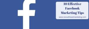 10 Effective Facebook Marketing Tips