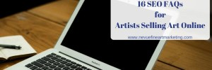 16 SEO FAQs for Artists Selling Art Online [Infographic]
