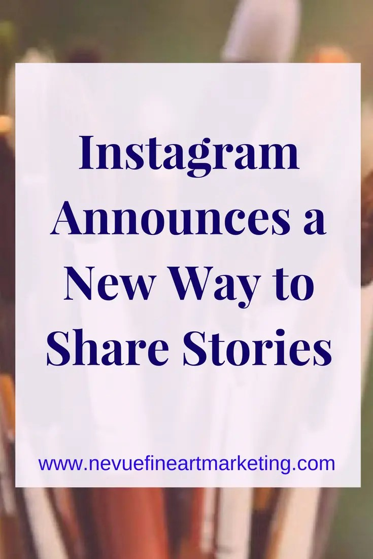 Instagram Introduces a New Way to Share Stories