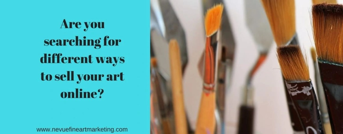 4 Selling Art Online Strategies That Work