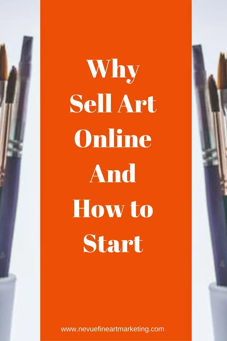 Have you been thinking about selling your artwork? Why sell art online? One reason is that you will have an opportunity to reach a larger audience.