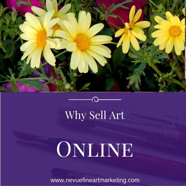 Why Sell Art Online and How to Start