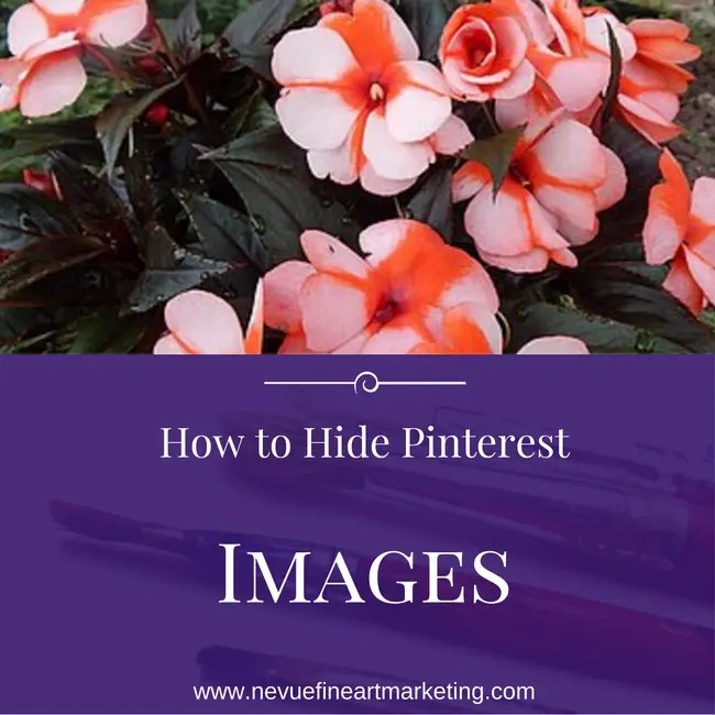 How to Hide Pinterest Images