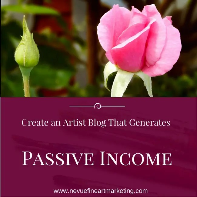 Create an Artist Blog That Generates Passive Income