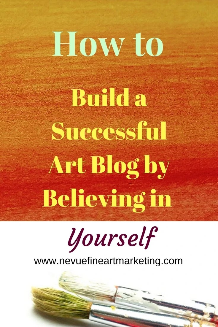 Would you like to build a successful art blog so you can sell your paintings and drawings to people around the world?In this post, you will discover how to build a successful art blog by believing in yourself so you can sell your art to people all around the world.