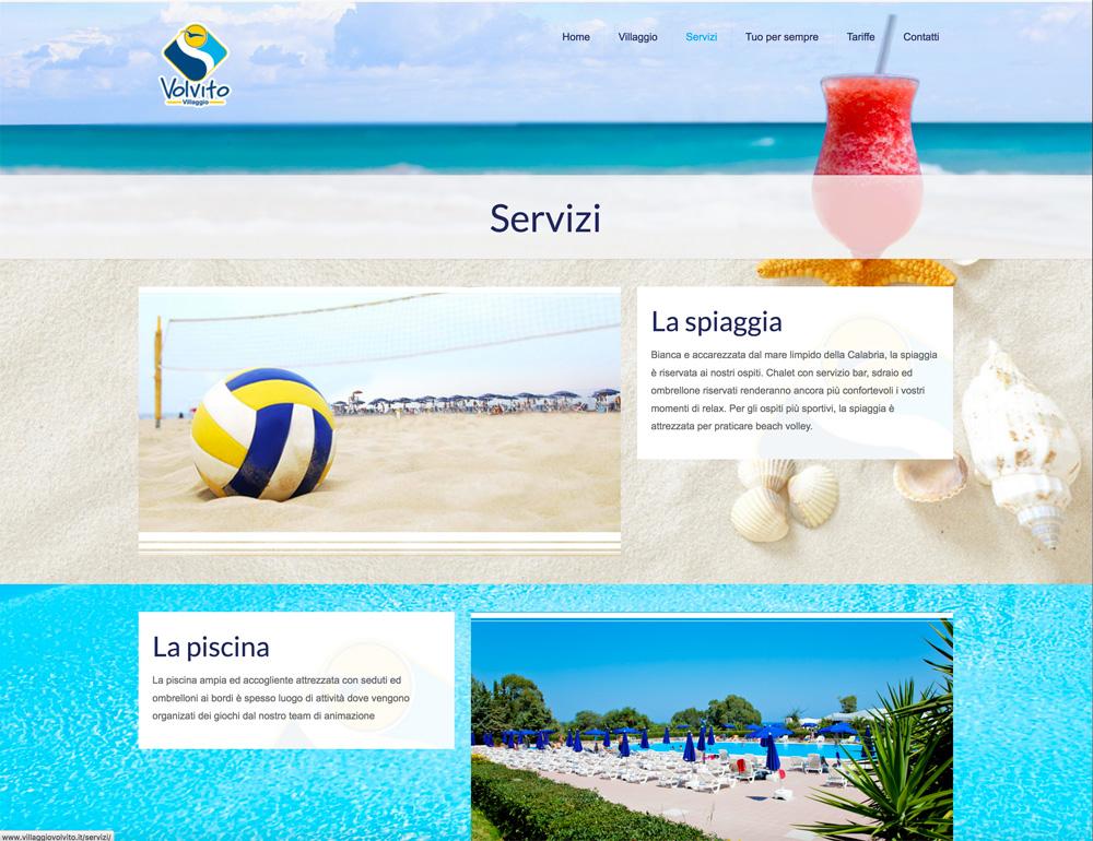 Villaggio Volvito Website