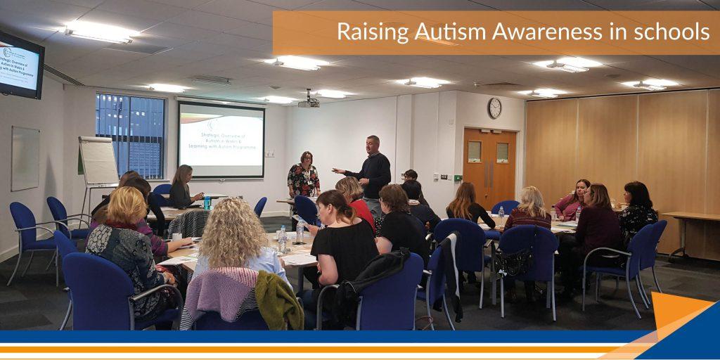 Caedraw Primary School - Raising Austism Awareness in schools