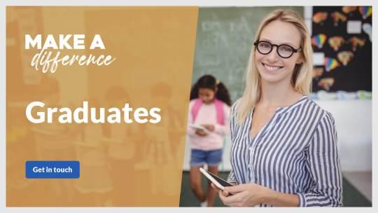 Graduates for schools