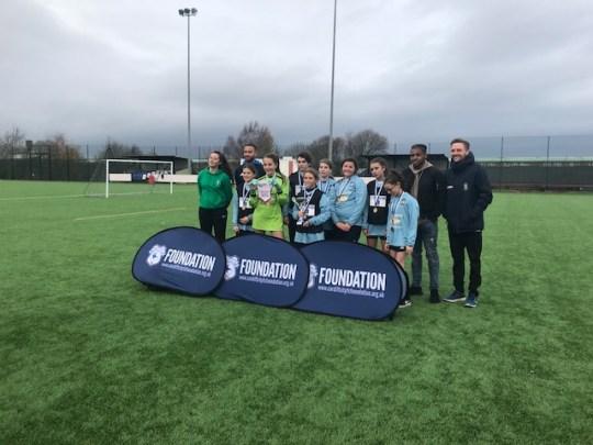 Winners girls cup