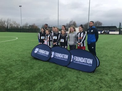 Runners up girls cup