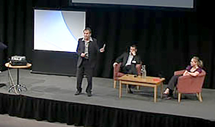 Richard presenting at The Internet Conference