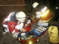 Rettungsdiesnst-Arbeit