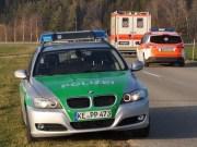 2012-03-20 Verkehrsunfall Hawangen ungerhausen notarzt polizei rtw