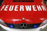 Feuerwehr-Schriftzug