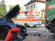 15-08-2013 biberach berkheim unfall lkw pkw feuerwehr-berkheim poeppel titel