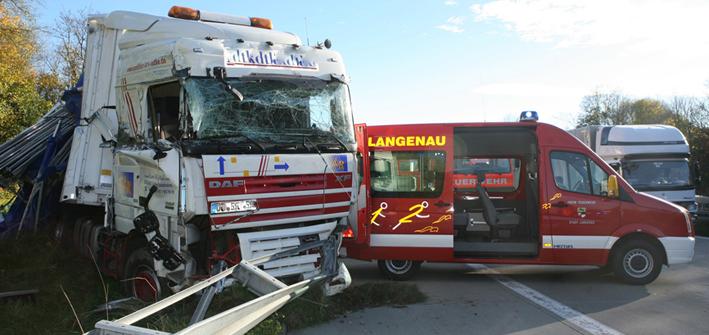 Autobahn Unfall A7