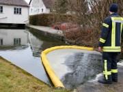 24-01-2014 neu-ulm altenstadt öl-auf-wasser ölsperre feuerwehr wis new-facts-eu