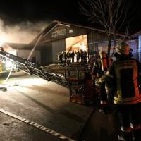 Bernbach - Brand in Biogasanlage