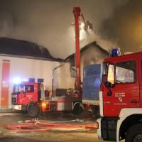 Bremenried - Brand in Gewerbepark - hoher Sachschaden