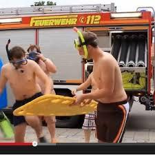 cold water challenge Feuerwehr 2014