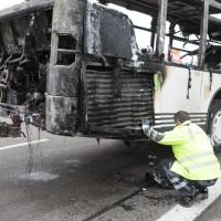 A8  GZ Bus brannte