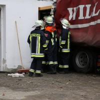 02.12.2014 LKW-in-Haus-Totalschaden-Fahrer-tot-Feuerwehr-Polizei- Rettungsdienst-Halblech-Vollsperrung-Bringezu-New-facts (36)