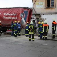 02.12.2014 LKW-in-Haus-Totalschaden-Fahrer-tot-Feuerwehr-Polizei- Rettungsdienst-Halblech-Vollsperrung-Bringezu-New-facts (77)