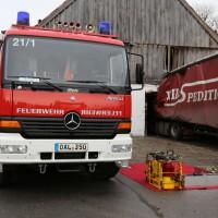 02.12.2014 LKW-in-Haus-Totalschaden-Fahrer-tot-Feuerwehr-Polizei- Rettungsdienst-Halblech-Vollsperrung-Bringezu-New-facts (89)
